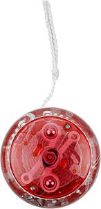 JOLI Plastové svítící jo-jo, červená