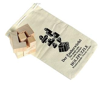 Puzzle dřevěné-kostka