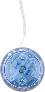 JOLI Plastové svítící jo-jo, modrá