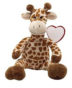 MAURICE Žirafa, hnědá