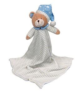 Hračka medvídek s noční čepičkou