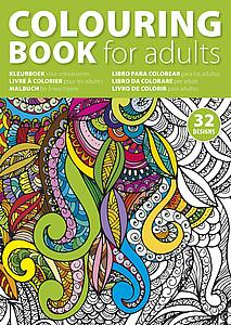 MANDALA Omalovánky pro dospělé, formát A4, 32 stran