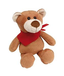 TUBBS Plyšový medvěd se šátkem