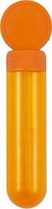 BOURO Bublifuk v průhledném obalu o objemu 30ml, oranžová