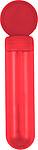 BOURO Bublifuk v průhledném obalu o objemu 30ml, červená