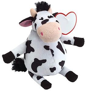 Plyšová kráva, cca 19cm