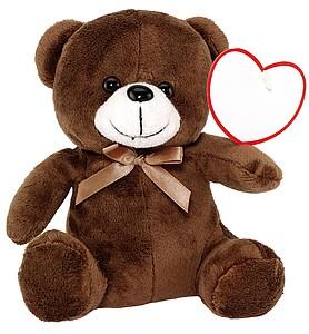 Plyšový medvídek, cca 16cm
