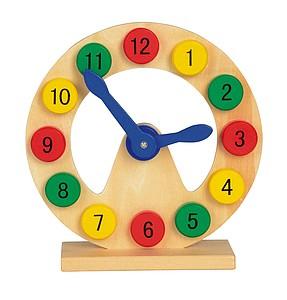 Dřevěné hodiny na hraní a pro výuku