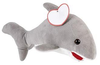 Plyšová hračka žralok