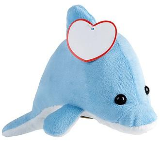Plyšová hračka delfín