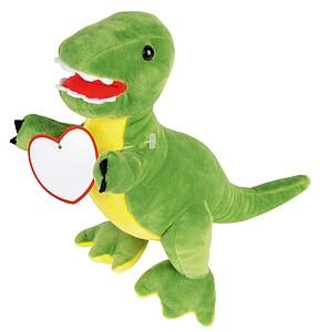 Plyšový dinosaurus, světle zelená