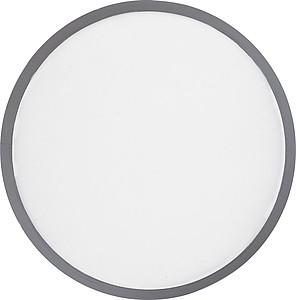 Skládací frisbee z polyesteru, bílé