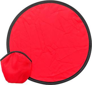 JESTŘÁB Ohebný létající talíř v pouzdře, červený