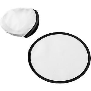 Skládací polyesterové frisbee, bílá