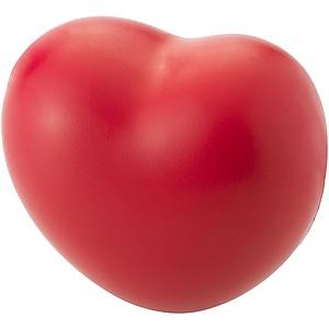 Antistresík ve tvaru srdce, červená