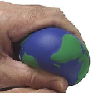 PLANETKA Antistresový míček, modro zelená