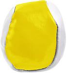 MÍČEK Antistresový balónek, kombinace bílá, žlutá