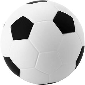 Antistresík ve tvaru fotbalového míče, bílá/černá