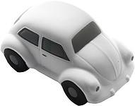Antistres ve tvaru autíčka, bílé