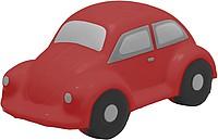 LORY Antistres ve tvaru autíčka, červená