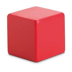 BRICK Antistresová kostka, červená