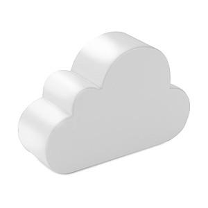 CLOUDINO Antistres ve tvaru oblaku, bílá