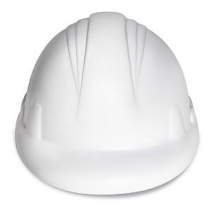 Anti-stress míček ve tvaru helmy, bílý