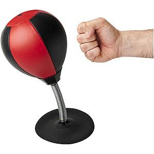 MEDULIN Stolní boxovací míč, černá/červená