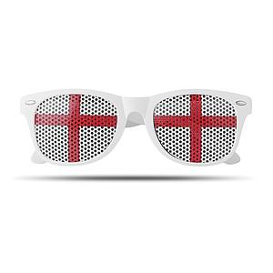 Brýle s Anglickou vlajkou na sklech