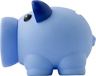 PIGINKA Pokladnička prasátko se šroubovacím rypáčkem, modré