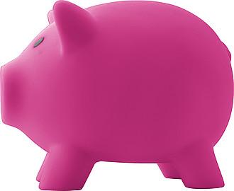 PIGY Plastová pokladnička prasátko, růžové