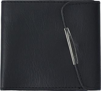 Peněženka z PVC s kapsou na mince