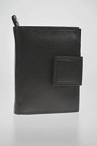 LEK peněženka z hnědé kůže