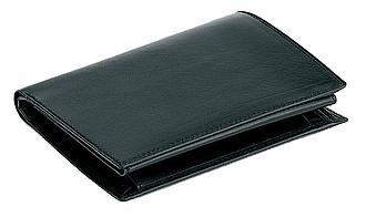 YEN kožená pánská peněženka, černá