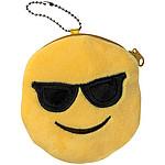 Plyšový smajlík brýle s kapsičkou