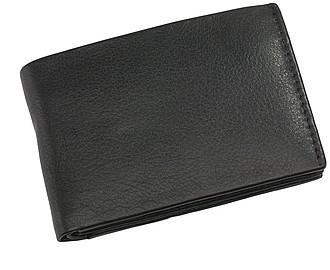 Kožená peněženka s přihrádkami na karty