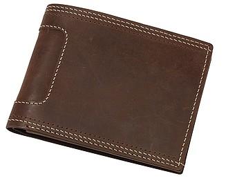 ETANGA Nízká kožená peněženka – reklamní peněženka s potiskem