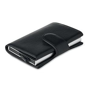 Peněženka s RFID ochranou platebních karet, černá