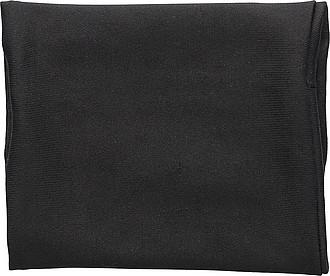 Elastická peněženka na zápěstí, černá