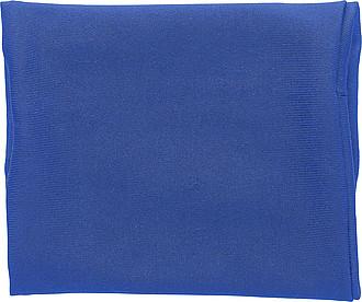 Elastická peněženka na zápěstí, modrá – reklamní peněženka s potiskem