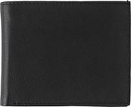 BOSKATA Černá kožená peněženka s RFID ochranou