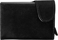 Kožená peněženka s ochranným systémem, černá