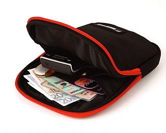 SCHWARZWOLF TURO cestovní taštička na doklady a peníze