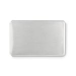 MILOTA Obal na karty plastový na 2 karty s ochranou proti skimmingu, bílá