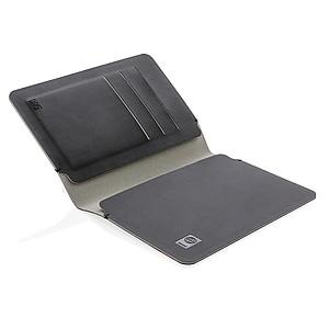 POMODORA Cestovní peněženka s RFID ochranou, černá – reklamní peněženka s potiskem