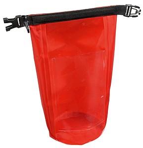 HARBOR Voděodolná taštička, objem 2,5l, červená