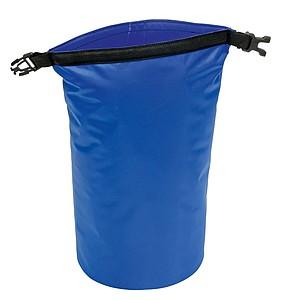 Voděodolná taštička, objem 5l, modrá