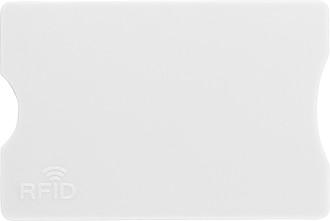 FIDORA Obal na platební kartu s RFID ochranou, bílý