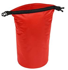 Voděodolná taštička, objem 5l, červená
