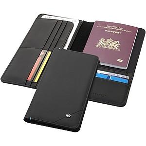Cestovní peněženka zn. Marksman, černá